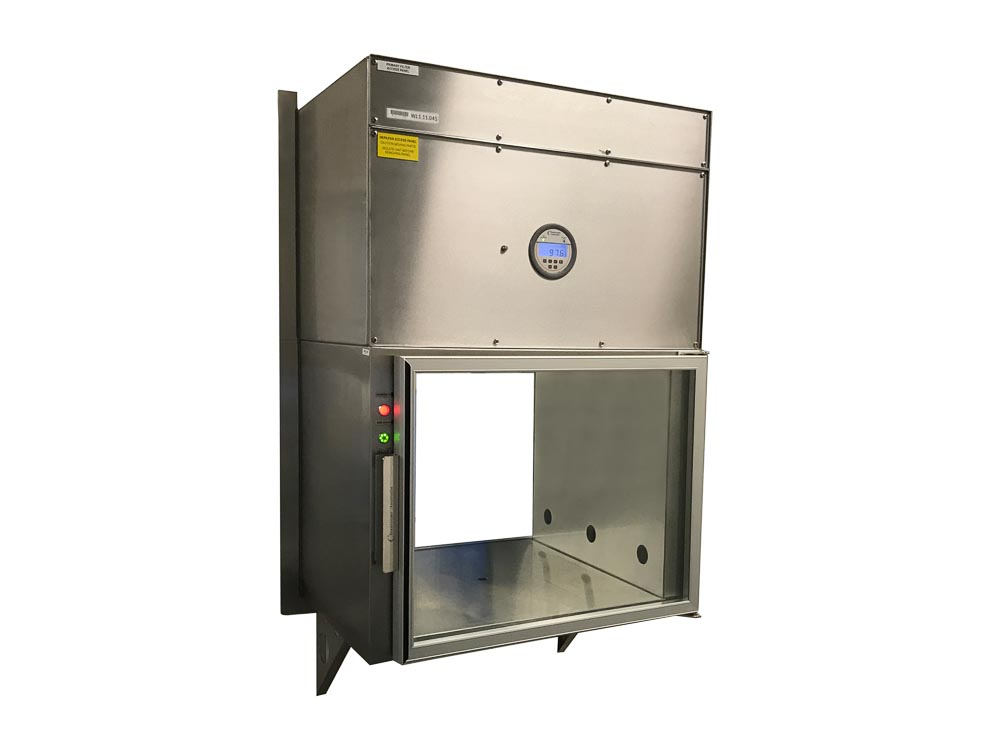 Cleanrooms Australia Fan assisted HEPA Filtered PAss through chamber